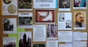 Józef Piłsudski w literaturze i sztuce – gazetka szkolna